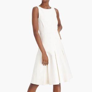 New J. Crew Cream Colored Linen Dress